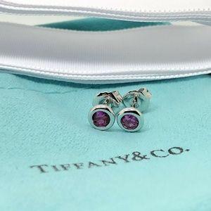 Tiffany & Co Peretti by the Yard Earrings Amethyst